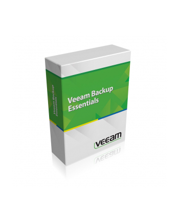 [L] Veeam Backup Essentials Standard 2 socket bundle for VMware
