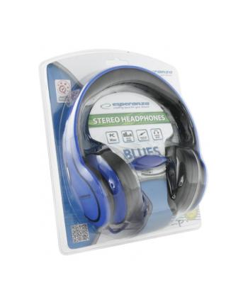 ESPERANZA Słuchawki Audio Stereo z Regulacją Głośności EH136B | 3m