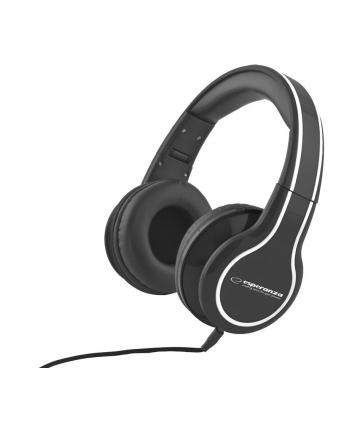ESPERANZA Słuchawki Audio Stereo z Regulacją Głośności EH136K | 3m