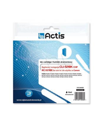 Actis tusz Canon CLI-521Bk (CHIP) KC-521Bk