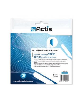 Actis tusz Eps T0712 D92/DX4450/DX7450 Cyan KE-712