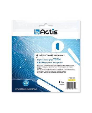 Actis tusz Eps T0714 D92/DX7450 Yellow KE-714