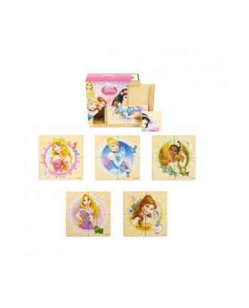 BRIMAREX Drewniane Puzzle Księżniczki