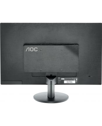 AOC MT LCD - WLED 23,6'' e2470Swda 1920x1080, 20M:1, 250cd/m2, 5ms, D-Sub, DVI Czarny