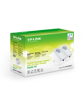 Adapter Powerline TP-Link TL-PA4010P 2 szt