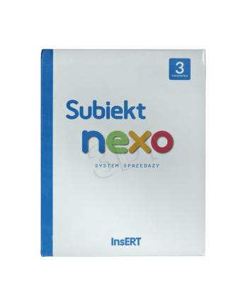 INSERT Subiekt nexo 3 STANOWISKA (BOX)