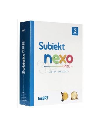 Subiekt NEXO PRO box 3 stanowiska SNP3