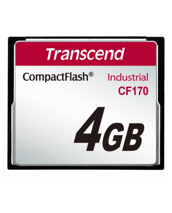 Transcend karta pamięci Compact Flash 4GB High Speed CF170