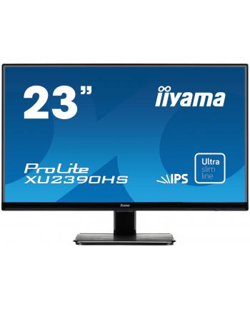 IIYAMA 23'' XU2390HS-B1 IPS D-SUB/DVI/HDMI/GŁOŚNIKI ULTRA SLIM