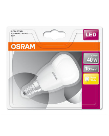 OSRAM LED Lamp STAR CLASSIC P 40 WW E14