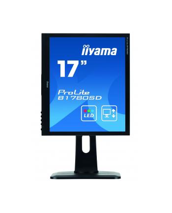 iiyama LCD LED 17'' Prolite B1780SD 17'', DVI, głośniki, 5ms, czarny