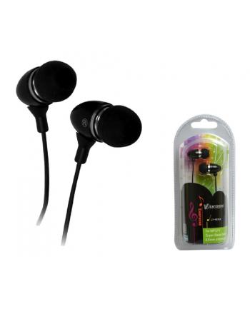 Vakoss Słuchawki stereo  douszne czarne