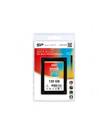 Dysk SSD Silicon Power S70 120GB 2.5'' SATA3 (550/500)