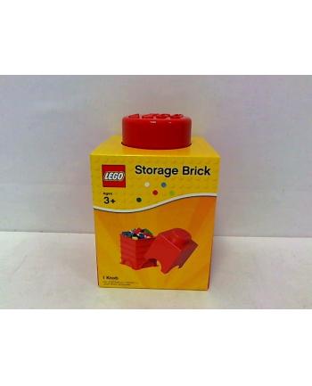 LEGO Pojemnik 1 Czerwony