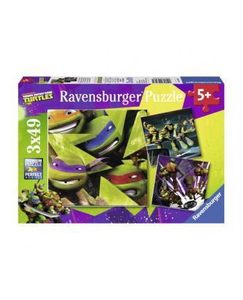 RAVEN. 3X49 EL. Żółwie Ninja