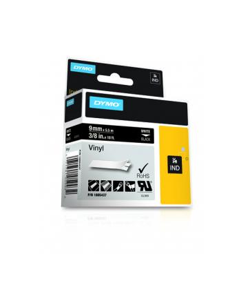 RHINO tasma winylowa 12mm biała/czarny