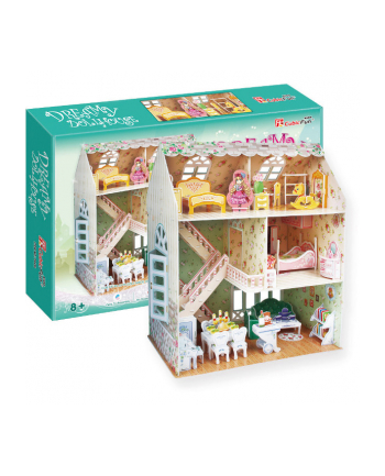 PUZZLE 3D Domek Dla Lalek Dreamy