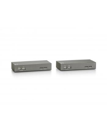 KONSOLA KVM PRZEDŁUŻACZ PORTÓW USB DO 150M PO UTP ZESTAW NADAJNIK I ODBIORNIK LEVELONE KVM-9006