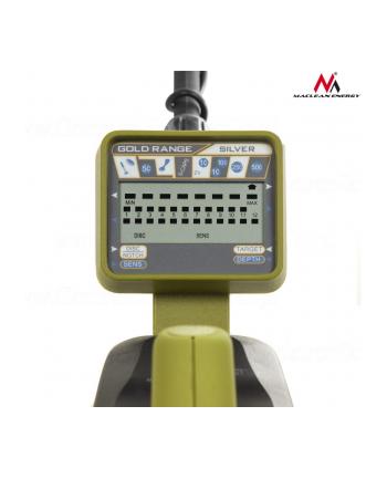 Maclean Wykrywacz metali MCE972 z dyskryminacja, LCD