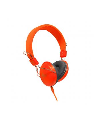 ART Słuchawki AP-60A z mikrofonem pomarańczowe