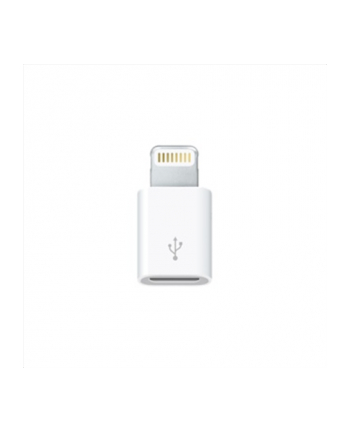 Apple Przejściówka ze złącza Lightning na złącze micro-USB MD820ZM/A