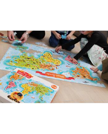 CZUCZU Puzzle Mapa Świata