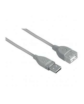 Hama PRZEDŁUŹACZ USB A-A 0,5M SZARY