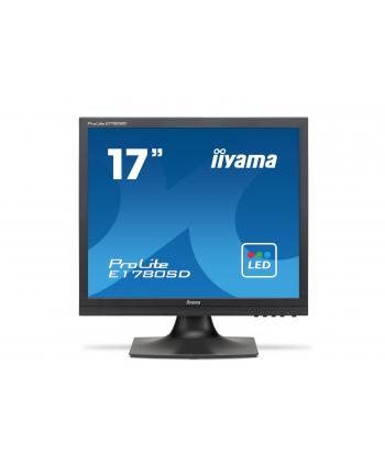 iiyama LCD LED 17'' Prolite E1780SD-B1 5ms, DVI, głośniki, czarny