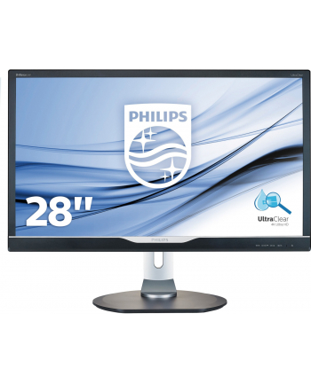Monitor Philips LED 28'' 288P6LJEB/00 DVI; HDMI; DP; 5xUSB; głośniki