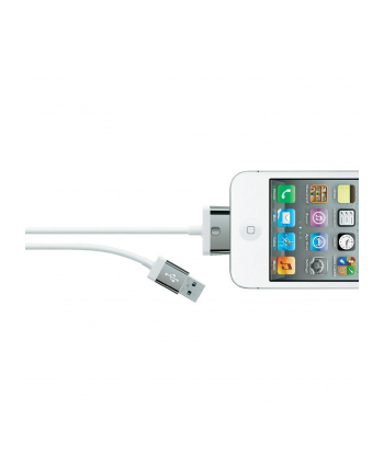 Belkin CABLE,2.1A,30PIN,CHARGE/SYNC,2M,WHITE