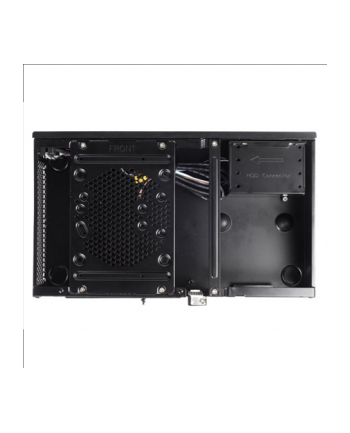 SilverStone Milo ML05B HTPC/ desktop case, USB 3.0 x2, black, w/o PSU