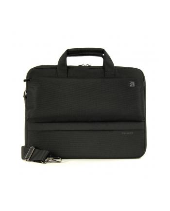Tucano DRITTA Computer case for MacBook Pro 15'' & Ultrabook 13''/14'' (Black) / Polyester / Interior: 34x24,5x3,5