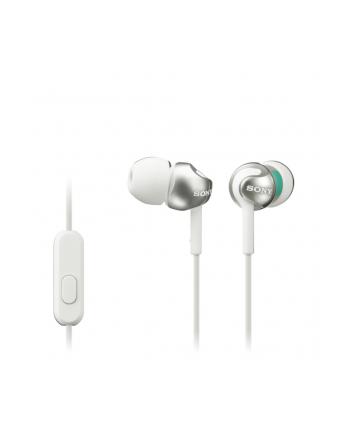 Słuchawki Sony  MDR-EX110 W (białe)