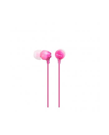 Słuchawki Sony MDR-EX15APPI (różowe)