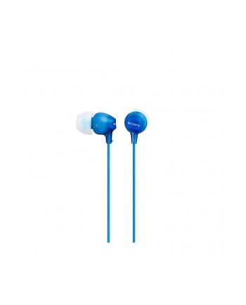Słuchawki Sony MDR-EX15LPLI (niebieskie)