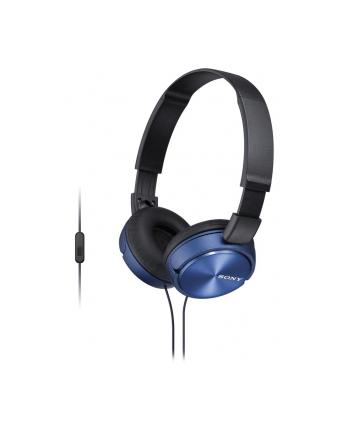 Słuchawki Sony MDR-ZX310APL (niebieski)