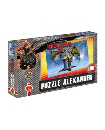 ALEXANDER Puzzle 90 Smoki 2 Zimno