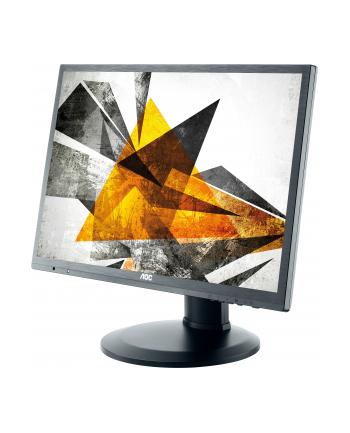 AOC Monitor LED e2260Pda 22'' DVI, głośniki, pivot, czarny