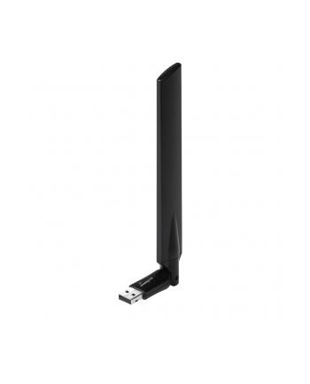 Edimax Technology Edimax AC600 Dual Band 802.11ac USB adapter, 2,4GHz+5GHz, 4/6dBi antenna craddle
