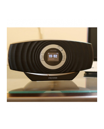"Microlab MD-310BT 2.1 Bluetooth Speaker Black/ 3.6W RMS/ FM Radio/ 1.8"" LCD"
