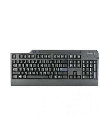 Lenovo USB Smartcard Keyboard - U.S. English with Euro symbol