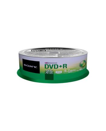 DVD+R SONY 4.7GB 16X CAKE 25SZT