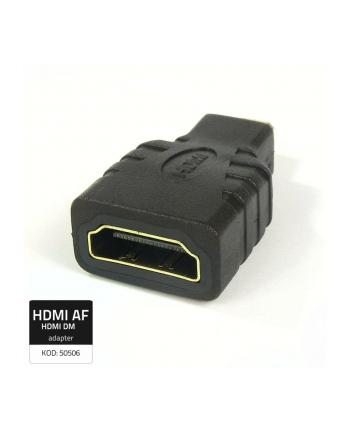Qoltec Przejściówka HDMI żeńska/ Micro HDMI męska