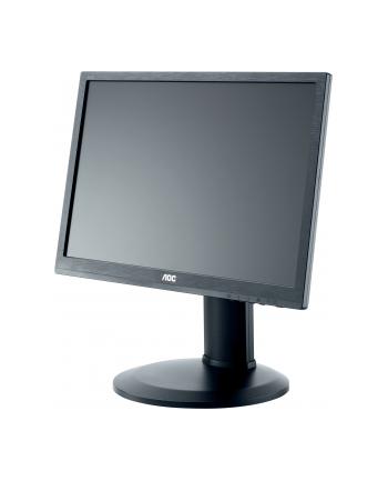 AOC Monitor LED e2260Pq/BK 22'', 2ms GTG, D-Sub, DVI-D, DP, czarny