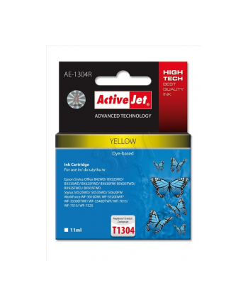 ActiveJet AE-1304R tusz yellow do drukarki Epson (zamiennik T1304)