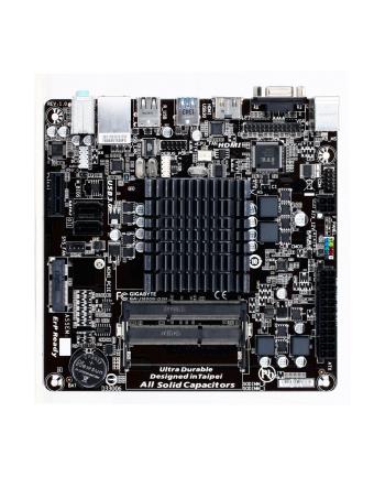 GIGABYTE GA-J1800N-D2H (CPU/VGA/DZW/GLAN/SATA/USB3/DDR3/SO-DIMM) Mini-ITX