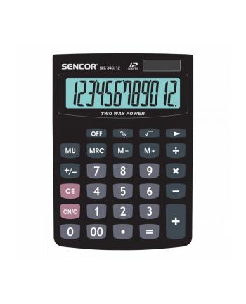 Kalkulator SENCOR 12 znaków - SEC 340/12