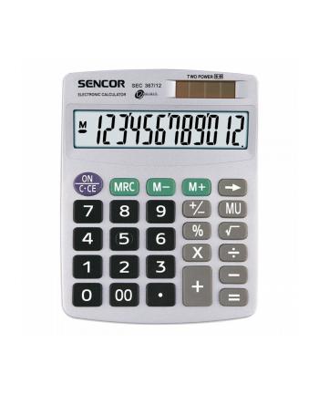 Kalkulator SENCOR 12 znaków - SEC 367/12