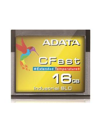 Adata CFast Card 16GB, Wide Temp, SLC, -40 to 85C