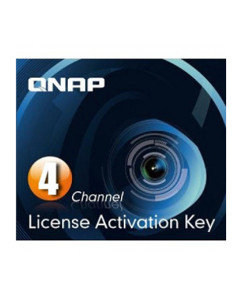 QNAP 4 license activation key for Surveillance Station Pro